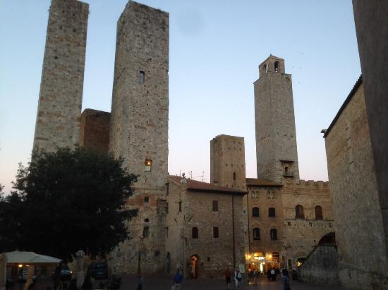 Castel San Gimignano, Italia: Alcune torri di San Gimignano