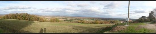 Paulhac, Frankrike: Panoramique de la région