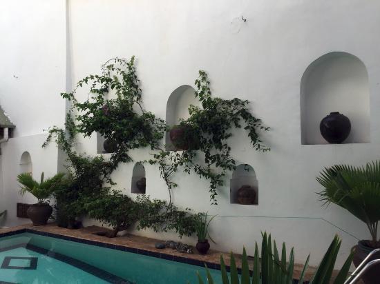 Kholle House: Detail am Pool