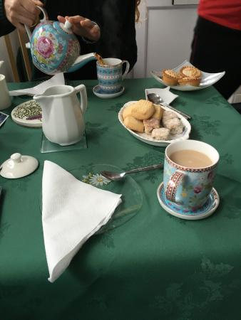 Fairhaven B&B: Welcome tea