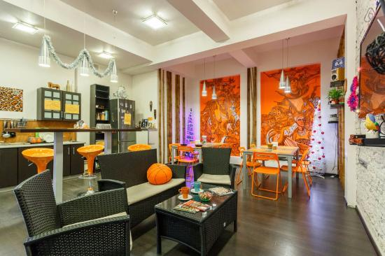 Safari Hostel : Общая комната отдыха