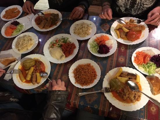 Typische Turkische Kuche Picture Of Mercan Restaurant Berlin
