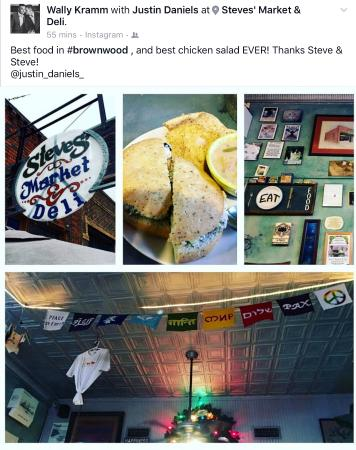 Μπράουνγουντ, Τέξας: Chicken Salad!