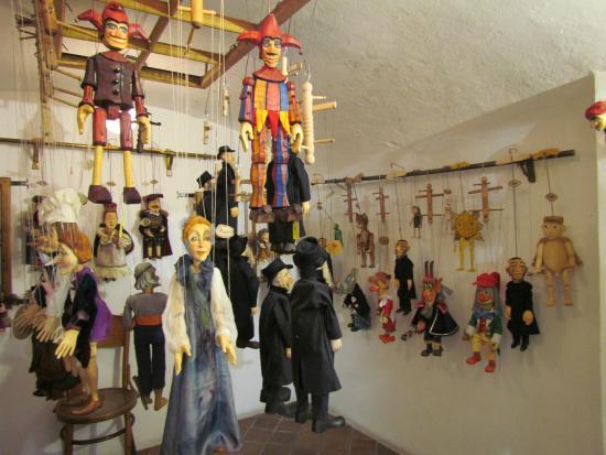 Czech Marionettes Museum : Magasin des marionettes