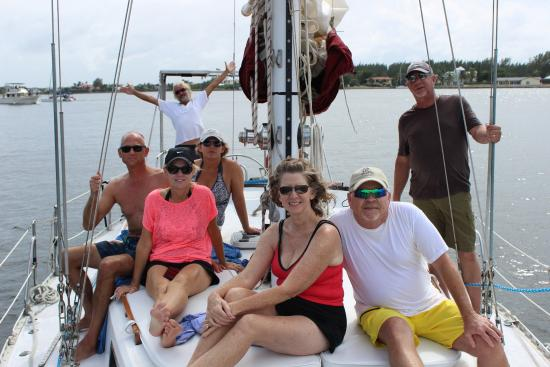 Sail With Friends Cayman: Sailing with friends