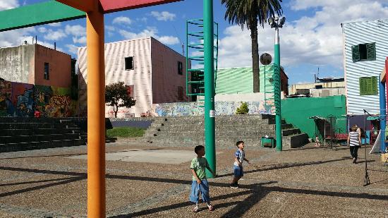 Plazoleta Bomberos Voluntarios de La Boca
