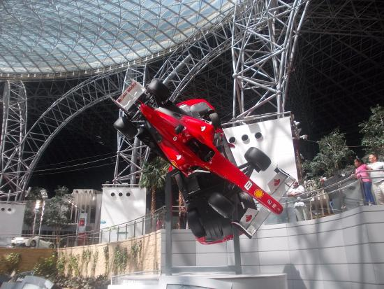 at ferrari world abu dhabi picture of ferrari world abu dhabi abu. Cars Review. Best American Auto & Cars Review