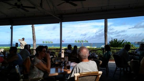 Ocean View Picture Of Bts Oceanfront Restaurant Deerfield Beach