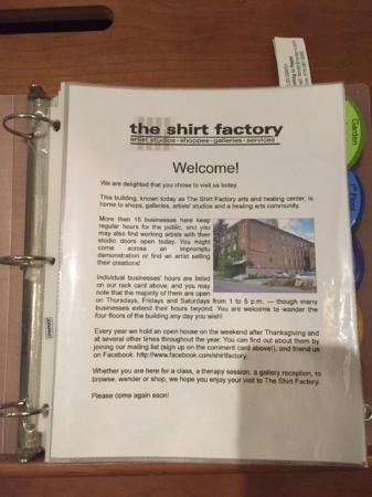 The Shirt Factory: Short description of the property
