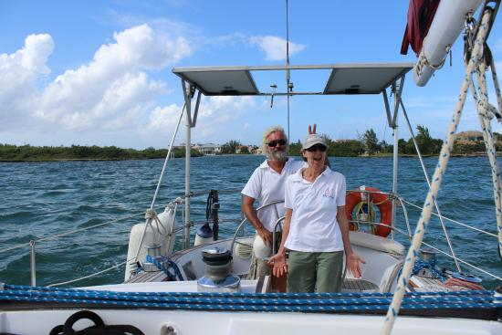 Sail With Friends Cayman: Patrick and Alice