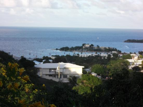 Carringtons Inn St. Croix: view from balcony