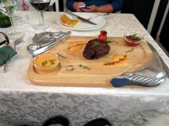 Cat Restaurant: Филе говядины на гриле