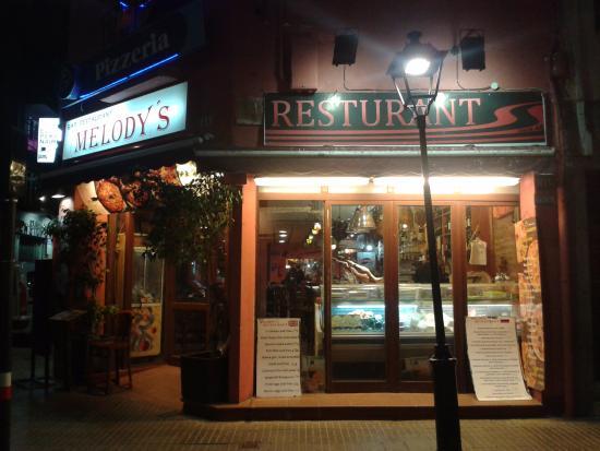 Melody's Bar Restaurant: вид