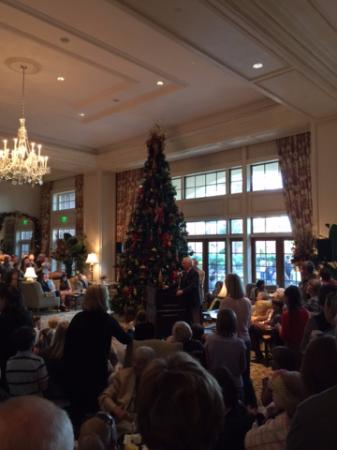 Christmas Day Kiawah Island 2020 Lighting of the Christmas Tree in Grand Lobby   Picture of The