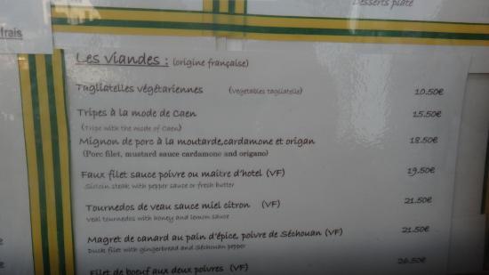 Calvados bild von la fleur de sel port en bessin - Restaurant fleur de sel port en bessin ...