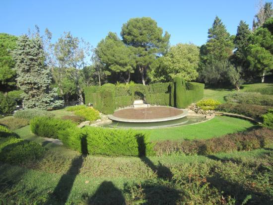 Jardins de joan maragall bild von parks des montju c for Jardines joan maragall