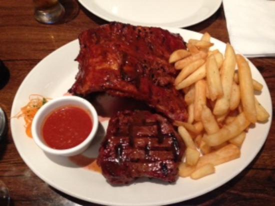 Ribs and Steak - Picture of Mike\'s Kitchen Rib & Steakhouse ...