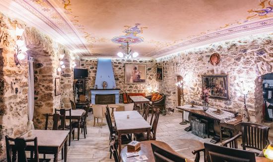 Arhontiko Kefalari: lounge