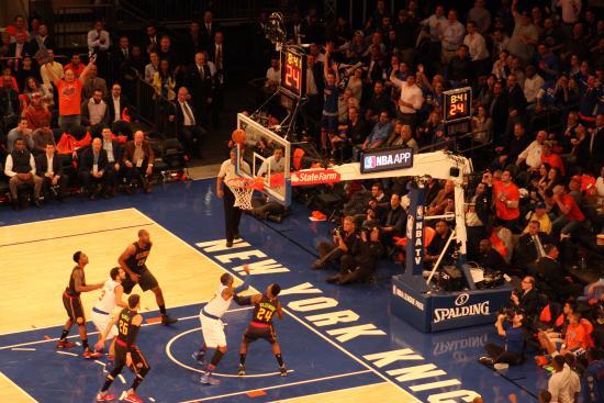 New York Knicks Vs Atlanta Hawks Picture Of Madison Square Garden New York City Tripadvisor