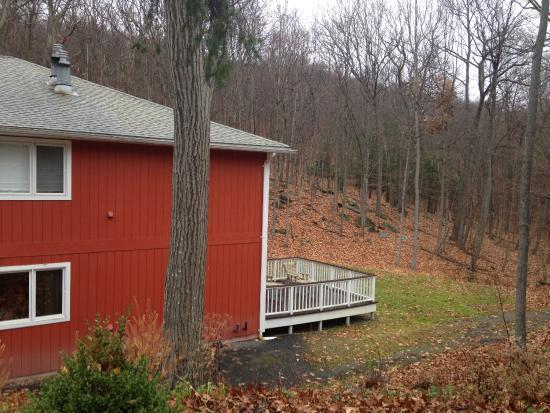 Hideaway Suites Bed & Breakfast: Another rooms porch