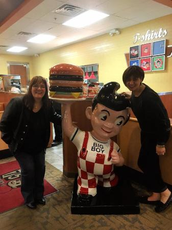 Petoskey Big Boy: Fun pose