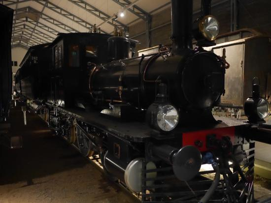 Suomen Rautatiemuseo: getting up close with the train