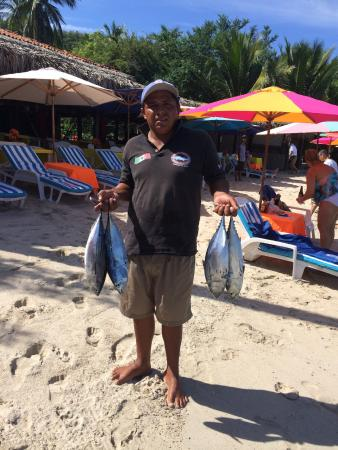 Julio's Tour & Fishing Guide Services: Tomas with Back Fin Tuna
