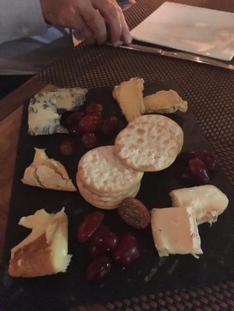 High Timber: Amazing cheese plate