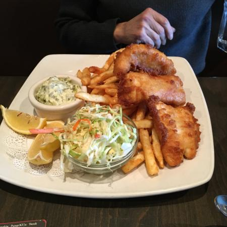 Murphy's: fish and chips