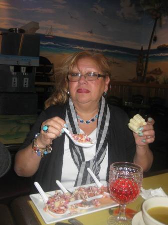 West New York, NJ: Choros a la Chalaca , deliciosos