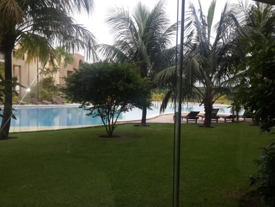 Sun Hotel: Vista desde la habitación