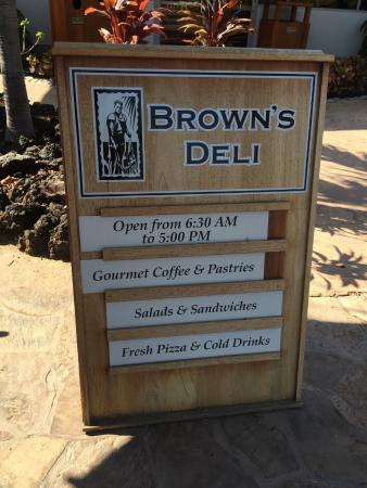 Brown's Deli