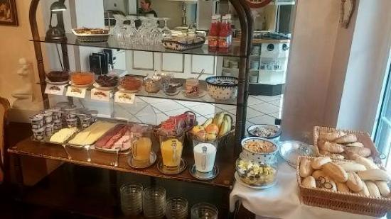 Gasthof Adler: Café da Manhã