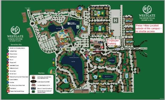 Resort Map Picture Of Westgate Vacation Villas Resort