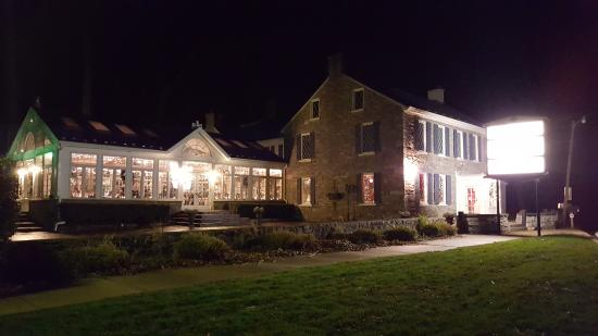 Boonsboro, MD: Nighttime portrait of the restaurant