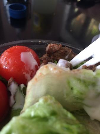 Pulp Kitchen: Lamb salad - rusty lettuce