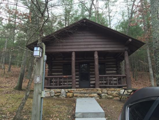 Douthat State Park: Cabin 6