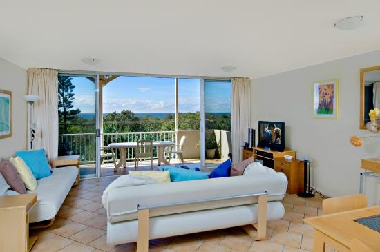 Horizons at Peregian : Rooftop living area