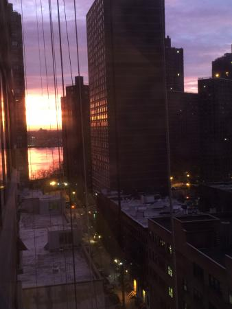 The Marmara Manhattan: Sunrise from our apartment