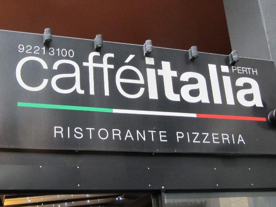 Caffe Italia: The place