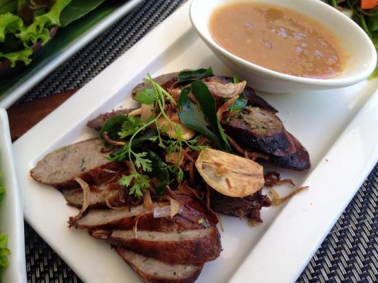 Lunch at Tamarind.Try Lao Food.