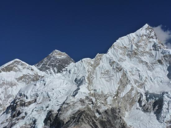 The view point of mount Everest(8848m)