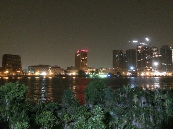 Hilton Cairo Zamalek Residences: View from hotel