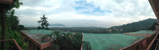 The View Rawada Resort & Spa : วิวจากห้องพัก