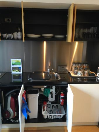 About Melbourne Apartments: Fully-stocked kitchen