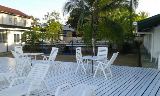 Hotel la Terraza: Pool Terasse