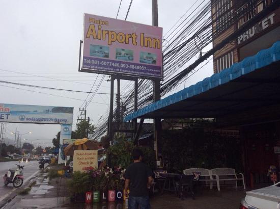 Phuket Airport Inn Hotel : front