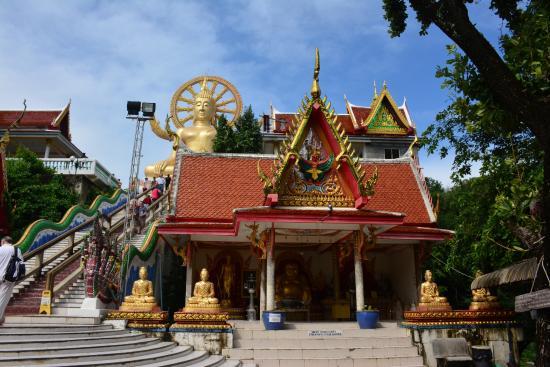 Bophut, Tailândia: Big Buddha is a complex of temples