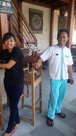 Pesona Resort: spa staff too good..