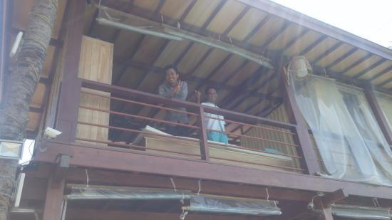 Pesona Resort: spa at ff & smiling staff